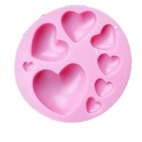 مولد سیلیکونی قلب ساده
